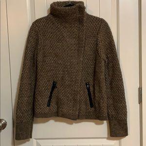 Alpaca Wool Blend. Loft sweater. Large.